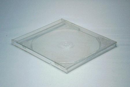CDジュエルケース透明(厚さ10mm)閉じた状態