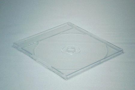 CDマキシケース透明(厚さ7mm)閉じた状態