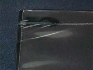 キャラメル包装されたDVDトールケース(黒)